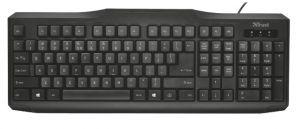 TRUST ClassicLine Keyboard CZ/SK NEW