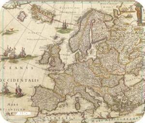 ALLSOP podložka pod myš - Evropa