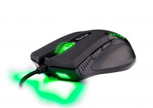 C-TECH Empusa herní myš, modré podsvícení, laser 3400DPI, USB