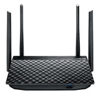 ASUS RT-AC58U Gigabit Dualband Wireless AC1300 Router, 4x gigabit RJ45, 1x USB3.0