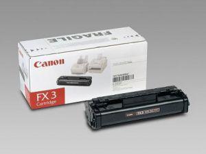 Tonerová cartridge CANON, black, FX3 - poškození obalu kategorie B (viz. popis)
