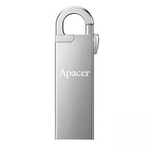 APACER USB Flash Drive, 2.0, 16GB, AH13A, stříbrný, AP16GAH13AS-1