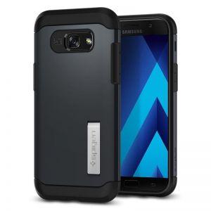 SPIGEN Slim ARMOR, metal slate - pro SAMSUNG Galaxy A5 (2017) kryt