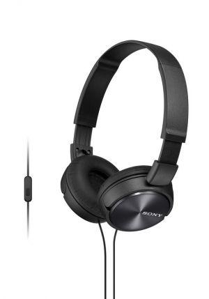 SONY sluchátka MDR-ZX310AP, handsfree, černé