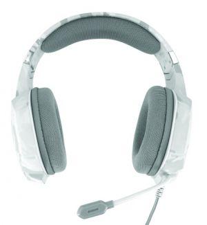 náhlavní sada TRUST GXT 322W Gaming Headset - white camouflage
