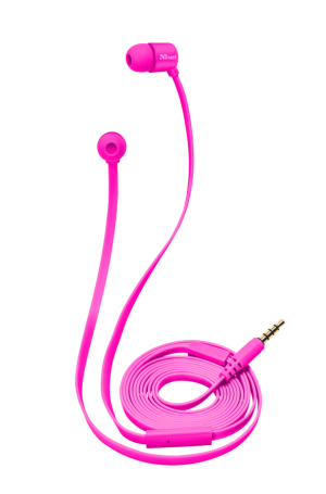 sluchátka do uší TRUST Duga In-Ear- neon pink