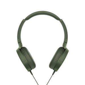 SONY Sluchátka EXTRA BASS MDR-XB550AP,zelená