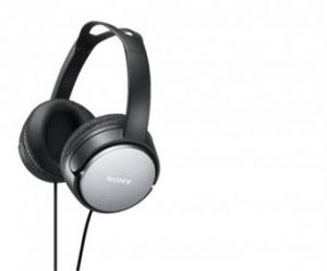 SONY HiFi sluchátka MDR-XD150 černá