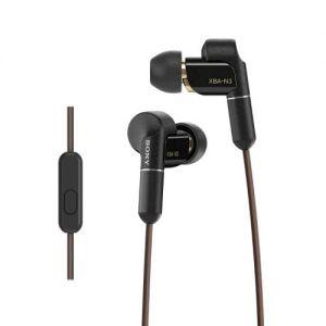 SONY sluchátka Balanced armature XBA-N3AP černé