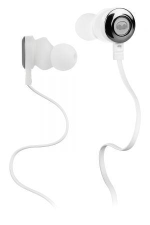 PIONEER Monster Clarity špuntová sluchátka bílá