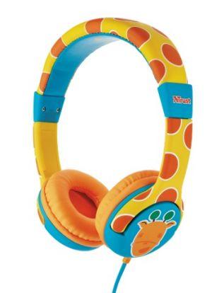 náhlavní sada TRUST Spila Kids Headphone - giraffe