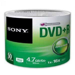 Média DVD-R SONY; 4.7GB; 50ks Bulk (120 min.)