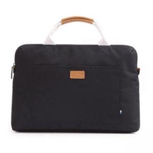 """Taška na macbook 15"""", POLARis Coal, černá z polyesteru, Golla"""