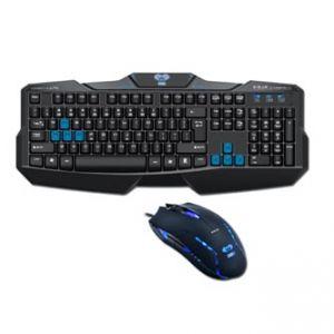 E-BLUE Sada klávesnice Cobra EKM746, herní, černá, drátová (USB), CZ/SK, s myší Cobra II