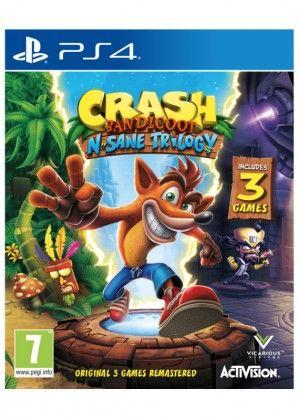 PS4 - Crash Bandicoot N. Sane Trilogy EN - 30.6.