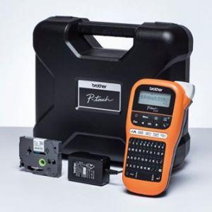 BROTHER PT-E110VP Tiskárna samolepicích štítků  s kufrem