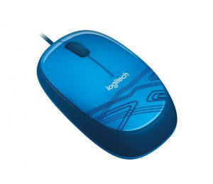 myš LOGITECH M105 Mouse Blue, USB v2