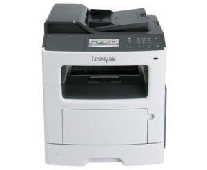LEXMARK MX417De mono laser MFP, 38 ppm, síť, duplex, RADF, fax, dotykový LCD