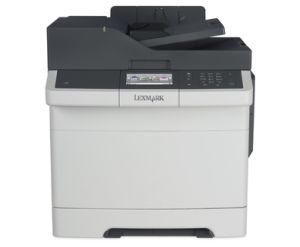 LEXMARK CX417De color laser MFP, 30 ppm, síť, duplex, fax, RADF, dotykový LCD