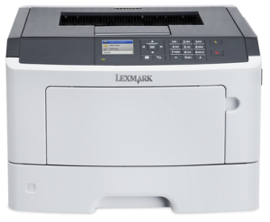 LEXMARK MS417DN mono laser, 38 str./min., duplex, síť, paralel. port