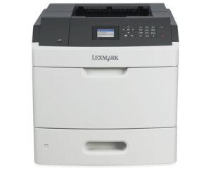 LEXMARK MS817dn mono laser, 52 str./min., duplex, síť, barevný LCD
