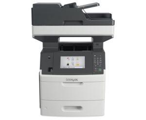 """LEXMARK MX717De mono laser MFP, 60 ppm, síť, duplex, fax, DADF, 7"""" dotykový LCD"""