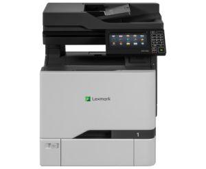 LEXMARK CX727de color laser MFP, 47/47ppm, síť, duplex, dotykový LCD, RADF, fax, A4