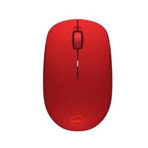 DELL bezdrátová optická myš WM126 červená