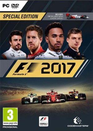 F1 2017 - PC DVD - Speciální edice