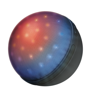 TRUST Dixxo Orb Bluetooth Wireless Speaker with party lights