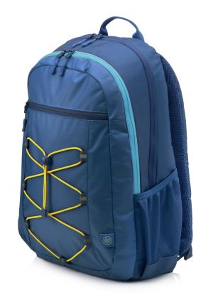 HP 15.6 Active Backpack (Navy Blue/Yellow)