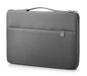 """HP 14 Carry Sleeve - Obal na notebook 14"""", Carry Sleeve, šedý z voděodolného materiálu, HP"""