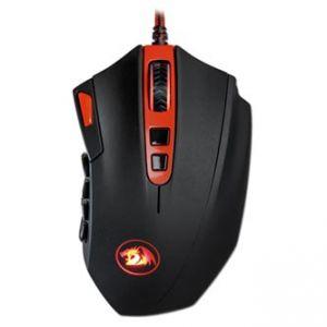 REDRAGON FIRESTORM Myš laserová, 19tl., 1 kolečko, drátová (USB), černo-červená, 16400DPI