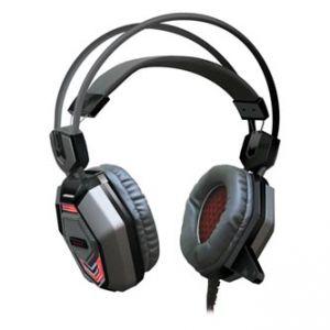 REDRAGON Placet herní sluchátka s mikrofonem, ovládání hlasitosti, černá, USB