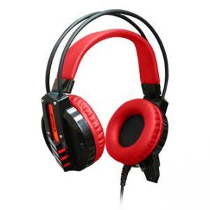 REDRAGON CHRONOS herní sluchátka s mikrofonem, ovládání hlasitosti, černá, 3.5 mm jack +