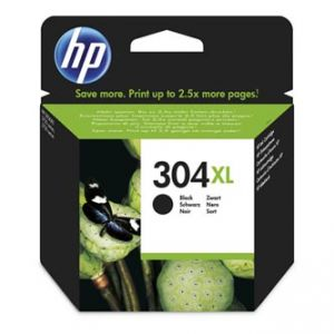 HP originální ink N9K08AE HP 304XL, black, 300str., 49ml, HP Deskjet 3720,3721,3723,3730,