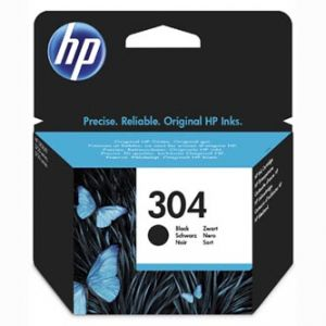 HP originální ink N9K06AE, HP 304, black, 120str., HP HP DeskJet 3720, HP DeskJet 3730