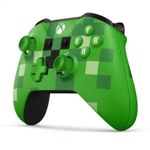 XBOX ONE - Bezdrátový ovladač Xbox One S MiNECraft Creeper [Modesto] - NOVINKA 19.9.- před