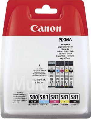 Ink/PGI-580/CLI-581 Cart CMYK BLIST+SEC, Ink/PGI-580/CLI-581 Cart CMYK BLIST+SEC