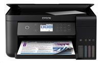 EPSON EcoTank L6160 CIS A4 33ppm, 4ink, USB, DISPLAY touch, Duplex, Ethernet