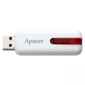 APACER USB Flash Drive, 2.0, 16GB, AH326 16GB Flash Drive, bílý, AP16GAH326W-1