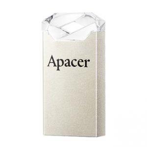 APACER USB Flash Drive, 2.0, 16GB, AH111 16GB Flash Drive, stříbrný, AP16GAH111CR-1