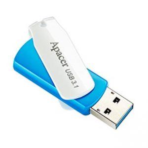 APACER USB Flash Drive, 3.1, 64GB, AH357, modrý, AP64GAH357U-1