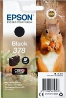 EPSON 378 - 5.5 ml - černá - originál - blistr - inkoustová cartridge