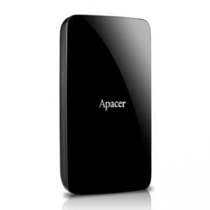 """APACER Externí pevný disk, 2,5"""", USB 3.0, 2TB, 2000GB, AC233, AP2TBAC233B-S, černá"""