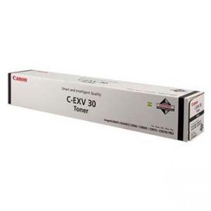 Originální toner, CANON, black, CEXV30 - poškození obalu kategorie B (viz. popis)