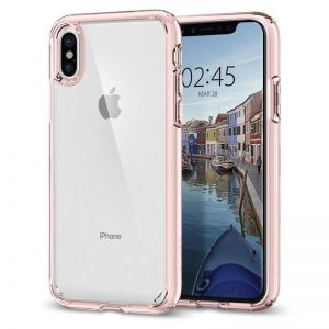 SPIGEN Ultra Hybrid, rose crystal - pro APPLE iPhone X