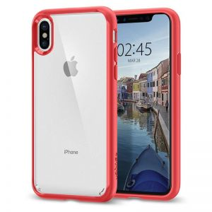 SPIGEN Ultra Hybrid, red - pro APPLE iPhone X