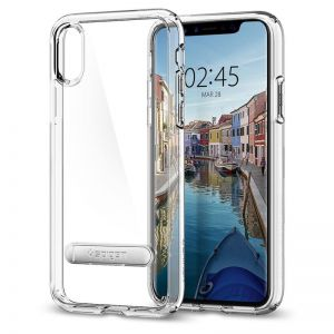 SPIGEN Ultra Hybrid S, crystal clear - pro APPLE iPhone X