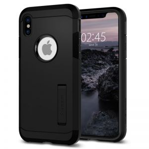 SPIGEN Tough ARMOR, black - pro APPLE iPhone X